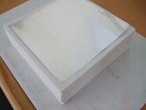 メモ用紙、アルミ箔